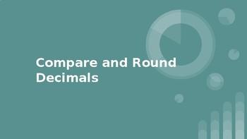 Comparing & Rounding Decimals Digital Exit Slip