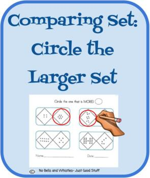 "Comparing Sets- Circle ""More"""
