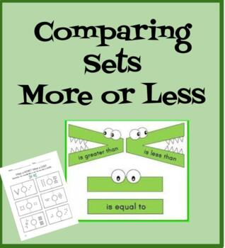 Comparing Sets- More/ Less