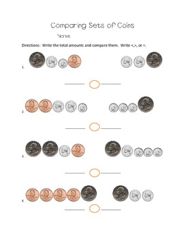 Comparing Sets of Coins