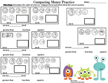 Comparing Sets of Money