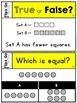 Comparing Sets to 10 - Kindergarten Math Tasks Cards