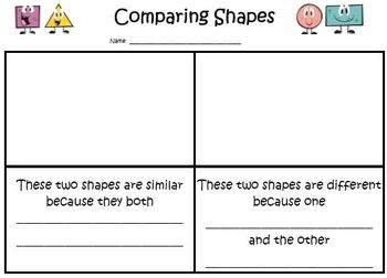 Comparing Shapes
