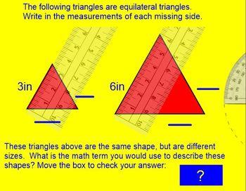 Comparing Similar Triangles