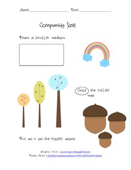Comparing Sizes
