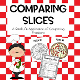 Comparing Slices: A Comparing Fractions Learning Experience