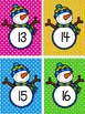 Snowmen Comparing Numbers: Greater Than and Less Than Game