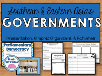 Comparing Southern & Eastern Asian Governments - India, China, & Japan (SS7CG7)