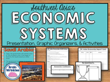 Southwest Asia's Economic Systems - Israel, Saudi Arabia,