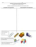 Comparing Standard and Nonstandard Measurement