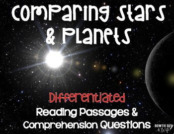 Stars & Planets: Comparing the two Differentiated Reading