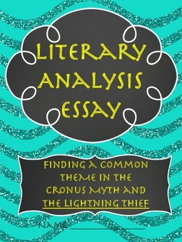 Comparing THEME in the Cronus Myth and The Lightning Thief