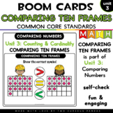 Comparing Ten Frames 11-20 for Boom Cards™