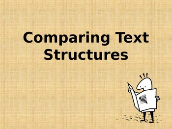 Comparing Text Structures