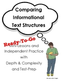 Comparing Text Structures - Ready-To-Go!