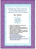 Comparing Texts Activity: Constructed Response to Literatu