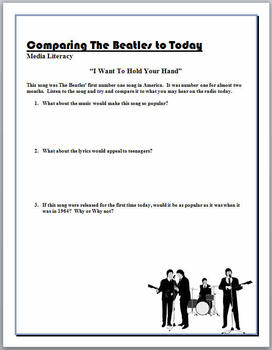 Comparing The Beatles to Today