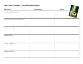 Comparing The Maze Runner Versions: Text vs. Film
