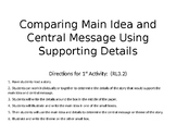 Comparing Theme and Central Message Using Supproting Details