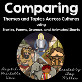 Comparing  Themes Across Cultures using Stories, Plays and Film