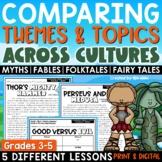 Comparing Themes & Topics Across Cultures RL.4.9