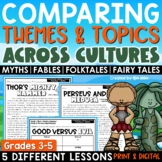 Compare Contrast Themes & Topics Across Cultures Print or Digital Google Version