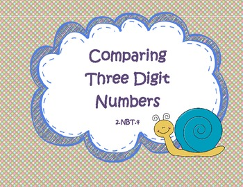 Comparing Three Digit Numbers Games