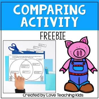"""Comparing """"Three Little Pigs"""" to """"The True Story of the Th"""