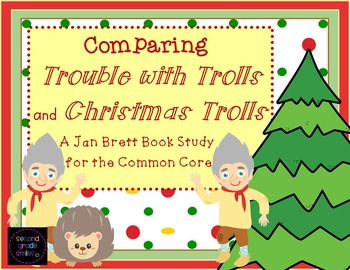 Trouble with Trolls & Christmas Trolls by Jan Brett