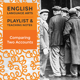 Comparing Two Accounts - Playlist and Teaching Notes