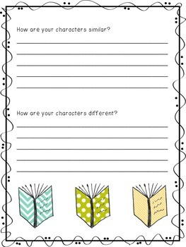 Comparing Two Characters in Literature (Differentiated)