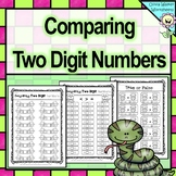 Comparing Two Digits Numbers / Greater Than / Less Than Worksheets 2 digits