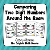 Comparing Two-Digit Numbers Around the Room