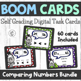 Comparing Two Digit Numbers Boom Card Bundle