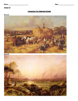 Comparing Two Historical Periods - Industrial Revolution