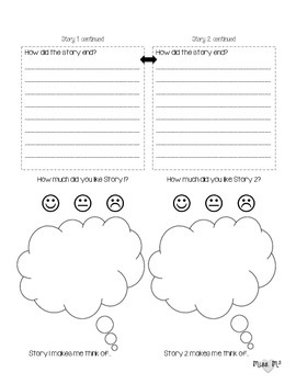 Comparing Two Stories & Venn Diagram