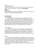 Comparing Two Texts  PARCC /Third Grade Activity