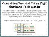 Comparing Two- and Three-Digit Numbers - Common Core Aligned