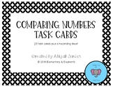 Comparing 2 and 3 Digit Numbers Task Cards