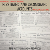 Comparing Types of Accounts Close Reading Passages - Native American Themed