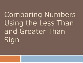 Comparing UP to Four Digit Numbers Using the Greater Than and Less Than Sign