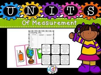 Second Grade Comparing Unit Measurements