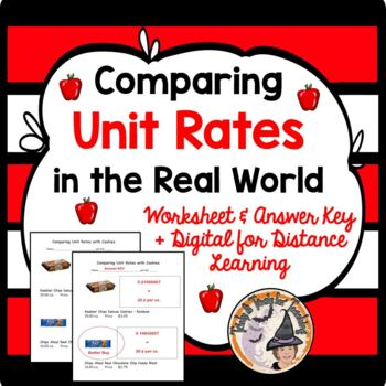 Comparing Unit Rate in the Real World Compare Unit Rates Best Buy Value Cookies