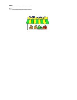 Comparing Unit Rates - Supermarket Circular Project
