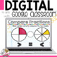 Comparing Unlike Fractions Digital Task Cards for Google Classroom