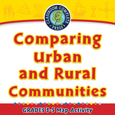 Comparing Urban and Rural Communities - Activity - NOTEBOOK Gr. 3-5