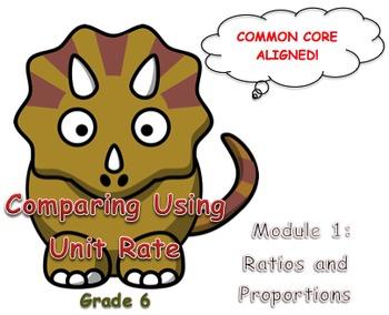 Comparing Using Unit Rate