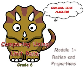 Comparing Using Unit Rate