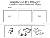 Comparing Weight Book {A Sequencing Activity}