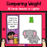 Comparing Weight: Heavier and Lighter | BOOM™ Cards